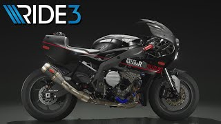 Ride 3 【西部警察 鳩村刑事 使用車両風 カラーリング】【ライド 3】【PS4】