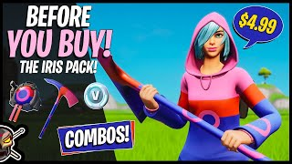 THE IRIS PACK is Here! Before You Buy! Combos + Gameplay! (Fortnite Battle Royale)