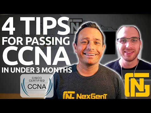 4 TIPS for passing CCNA in under 3 months with ZERO experience